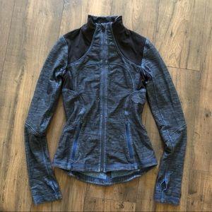 Lululemon Define Jacket Forme Limitless Blue Slub